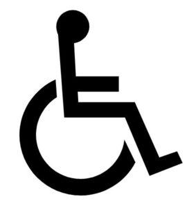 Schwerbehindertenrecht Rollstuhlzeichen Orthopädie Orthopäde Köln Klak Lindenthal