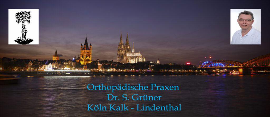 Sprechzeiten Orthopädische Praxen Dr. S. Grüner Köln Kalk - Lindenthal